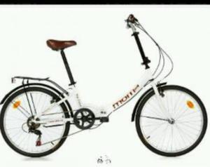 bicicleta plegable moma nueva