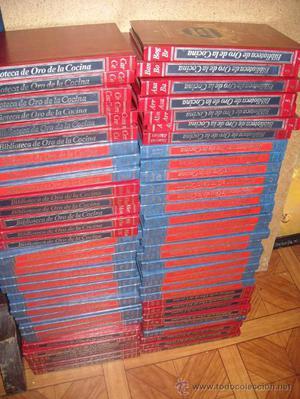 BIBLIOTECA DE ORO DE LA COCINA.MEJORES RECETAS DEL MUNDO
