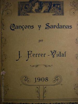 CANÇONS Y SARDANES.