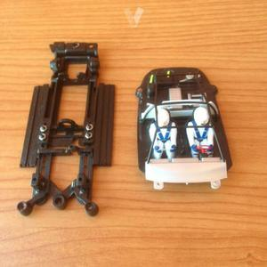 CHASIS+INTERIOR FORD RS200 MSC 1/32