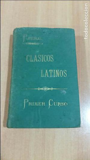 COLECCION DE CLASICOS LATINOS.PARRAL. TOMO PRIMERO. PRIMER