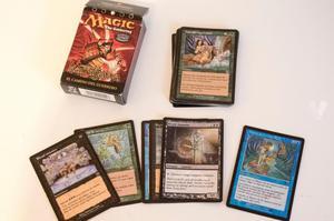Cartas de Magic y del Señor de los Anillos