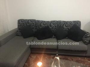 Cheslong. Mueble de tv y cama articulada