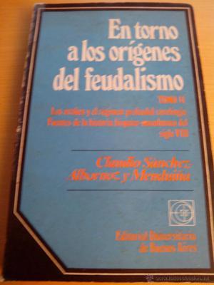 Claudio Sánchez Albornoz. En torno a los orígenes del