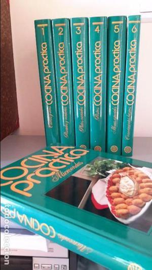 Colección Cocina práctica y varios libros de cocina