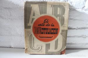 El arte de la rotulación. M.Bontcé, Alfabeto Bifur