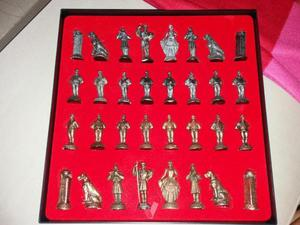 Figuras de ajedrez canario