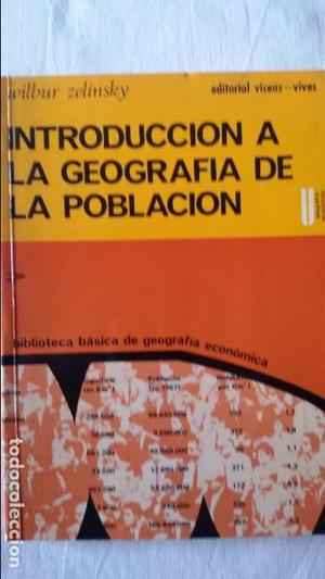 Introducción a la Geografía de la Población, Wilbur
