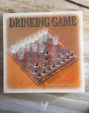 Juego de ajedrez de chupitos