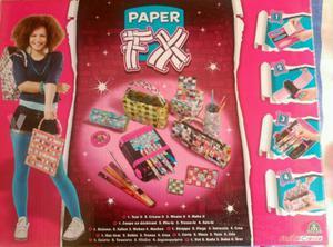 Juego de manuealidades paper fix