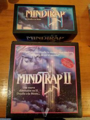 Juego de mesa MindTrap y MindTrap 2