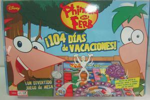 Juego de mesa Phineas y Ferb niño