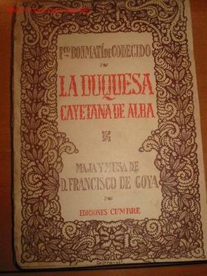 LA DUQUESA CAYETANA DE ALBA.