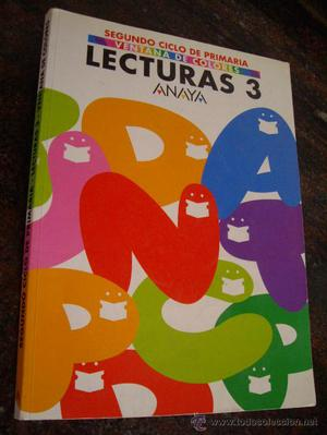 LECTURAS 3 - 2º CICLO PRIMARIA - (ANAYA ) SIN USAR