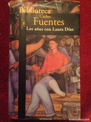 Libro,- Los años con Laura Diaz, por Carlos Fuentes