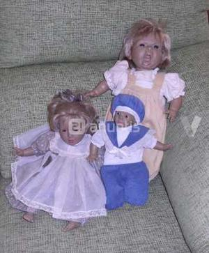 Lote de Antiguos muñecos