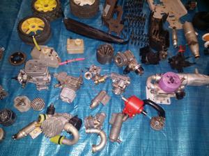 Lote de desguace de coches de radiocontrol
