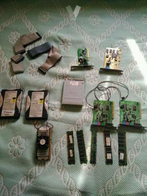 Lote de piezas informática antiguas