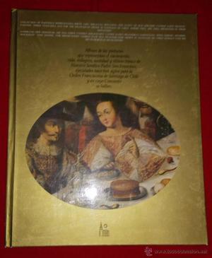 PRECIOSO LIBRO ALBUN DE PINTURAS DE GRAN FORMATO CON BELLAS
