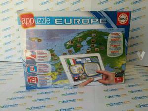 PUZZLE + APP EUROPA 150 PIEZAS