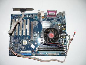 QDI K8V800, AMD Athlon MB RAM, 80Gb