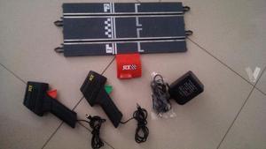 Recta conexiones mandos y transformador Scalextric