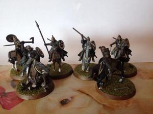 Rohirrim miniaturas el señor de los anillos