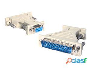 StarTech.com Adaptador de cable serie DB9 a DB25