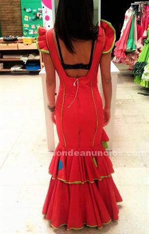 Vendo traje de flamenca