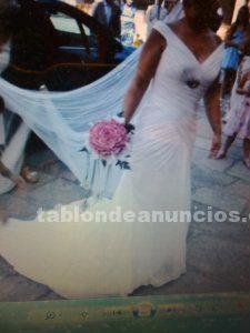 Vendo vestido de novia muy elegante
