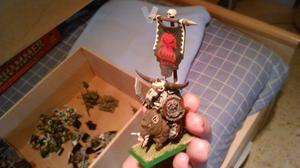 Warhammer Orcos, Imperio y Necrones