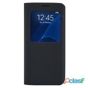 X-One Funda Libro Premium Samsung S7 Edge Azul