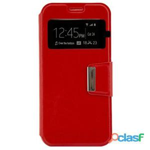 X-One Funda Libro Samsung A5 2017 Rojo