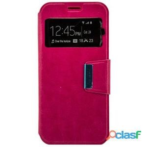 X-One Funda Libro Samsung A5 2017 Rosa