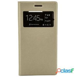 X-One Funda Libro Samsung S6 Dorado