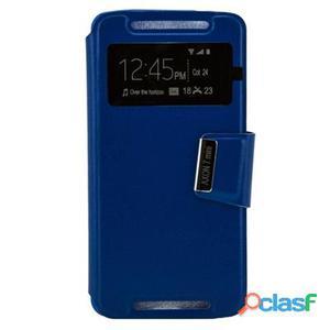 X-One Funda Libro ZTE Axon 7 Mini Azul