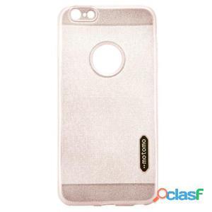 X-One Funda TPU Glitter iPhone 6 Plus Rosa