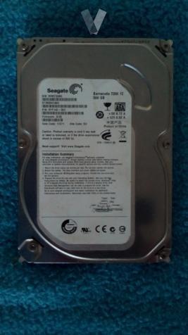 disco duro sata de 500 gb se puede probar
