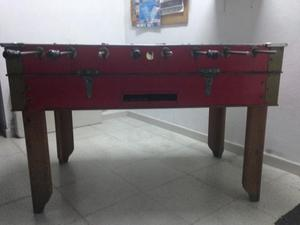 Futbolin mu ecos de hierro caceres posot class for Futbolin madera bar
