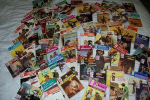lote de 112 novelas de bolcillo.- editorial bruguera