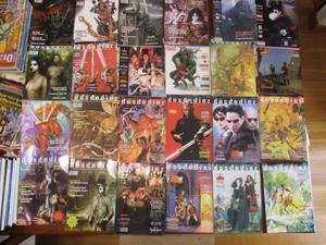 lote de 24 revistas de DosDeDiez (juegos de rol)