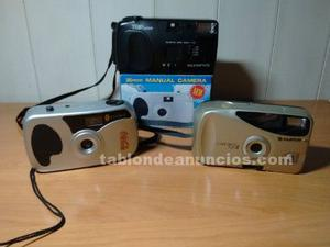 3 camaras 35 mm manuales por 10 €