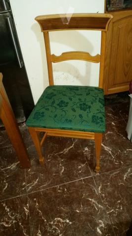 6 SILLAS COCINA O COMEDOR RUSTICA MADERA MACIZA