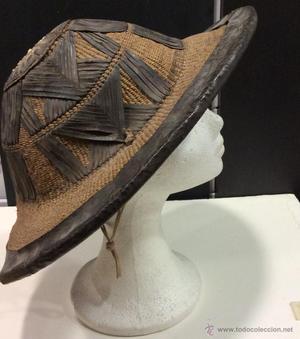 Auténtico sombrero africano de ganadero.