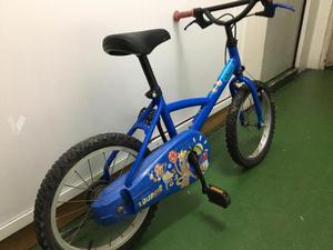 Bicicleta niño talla 14 pulgadas