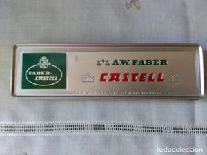 CAJA LATA CON 12 LAPICES A.W. FABER CASTELL H