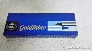 Caja de 12 lapiceros, gruesos, Faber Castell-Goldfaber,