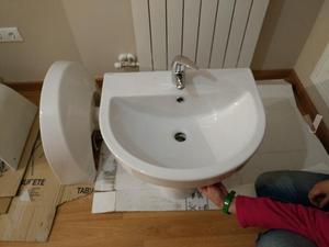 Conjunto lavabo +grifo todo a estrenar