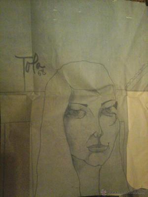 Dibujo firmado por Fernando Garcia Tola