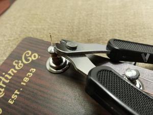 Enrollador cortadador guitarra